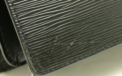 【バッグ】LOUISVUITTONルイヴィトンエピセルヴィエットアンバサダー書類カバンビジネスバッグレザーノワール黒ブラックゴールド金具M54412【中古】【k】