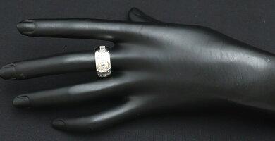 【ジュエリー】【新品仕上げ済】BVLGARIブルガリセーブザチルドレンソティリオリングチャリティーリング指輪シルバーAg925SV92514号#54【中古】【k】