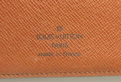 LOUISVUITTONルイヴィトンモノグラムアジェンダMM手帳カバー6穴式手帳カバーシステム手帳R20105【中古】【k】