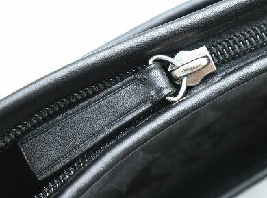 【バッグ】COACHコーチシグネチャーショルダーバッグ斜め掛けショルダーレザーコーティングキャンバスグレー黒ブラックF71131【中古】【k】