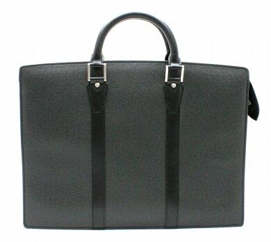 【バッグ】LOUISVUITTONルイヴィトンタイガロザン書類カバンビジネスバッグブリーフケースアルドワーズ黒ブラックM30052【中古】【k】