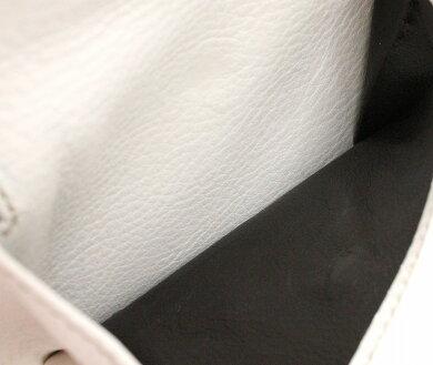 【未使用品】【財布】GUCCIグッチレザーロゴプレート2つ折財布GGキャンバスカーキベージュアイボリーシルバー金具224249203887【中古】【k】