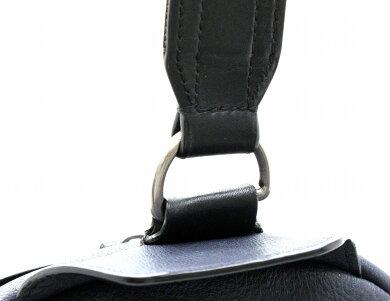【バッグ】TUMIトゥミミッションMISSIONドロレスワンショルダーバッググレインレザーネイビー紺ブラック黒68918NVY【中古】【k】