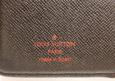 LOUISVUITTONルイヴィトンダミエアジェンダPM手帳カバー6穴式手帳カバーシステム手帳R20700【中古】【k】