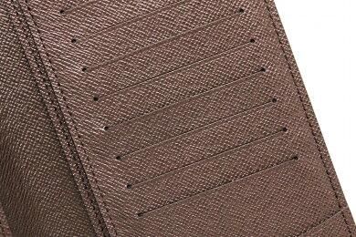 【新品未使用品】【財布】LOUISVUITTONルイヴィトンダミエポルトフォイユブラザ2つ折長財布N60017【k】