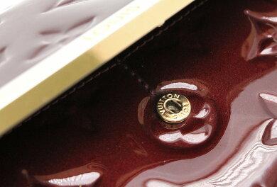 【財布】LOUISVUITTONルイヴィトンヴェルニ2つ折長財布ポルトフォイユロスモアルージュフォーヴィストM91592【中古】【k】