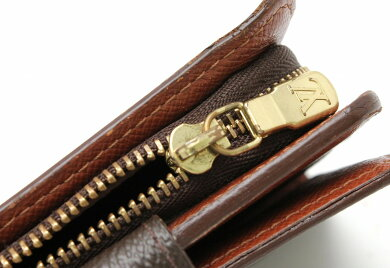 【財布】LOUISVUITTONルイヴィトンモノグラムコンパクトジップコの字型2つ折ファスナー財布M61667【中古】【k】