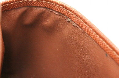 【財布】LOUISVUITTONルイヴィトンモノグラムポルトトレゾールエテュイパピエ3つ折財布証明書ケースなしM61202【中古】【k】