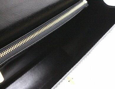 【バッグ】LOUISVUITTONルイヴィトンエピマルゼルブハンドバッグレザーノワール黒ブラックゴールド金具M52372【中古】【k】
