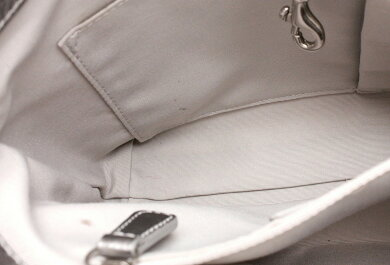 【バッグ】COACHコーチヘリテージシグネチャートップハンドルトートバッグミニトートハンドバッグライトブルー水色シルバー銀F46767【中古】【k】