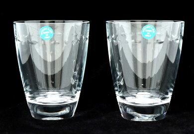 【未使用品】TIFFANY&Co.ティファニータンブラーグラマシーペアタンブラーペアグラスクリスタルガラス製コップロックグラス【中古】【k】