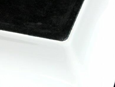 【未使用品】HERMESエルメスアッシュトレイ灰皿ヒョウ陶器ゴールドカラーホワイト白ブラック黒【中古】【k】
