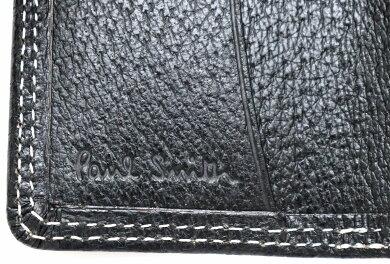 【新品未使用品】PaulSmithポールスミスレザー4連キーケースキーリング付黒ブラックシルバー金具PSY614【k】