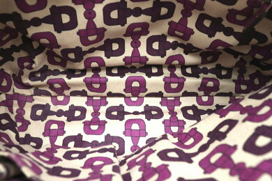 【バッグ】GUCCIグッチGGキャンバスアビーショルダーバッグハンドバッグワンショルダーレザーパープル紫130738213048【中古】【k】