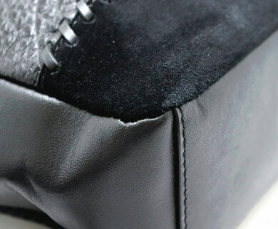 【未使用品】【バッグ】COACHコーチチャールズベースボールステッチミックスドマテリアルボディーバッグ斜め掛けレザーブラック黒F11236【中古】【k】