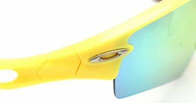 OAKLEYオークリーサングラスレーダーパスミラーレンズプルトナイトレンズ136替レンズ付イエロー黄色アイボリー09-748【中古】【k】