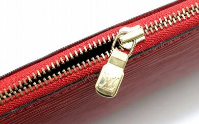 【バッグ】LOUISVUITTONルイヴィトンエピポシェットアクセソワールアクセサリーポーチハンドバッグレザー赤カスティリアンレッドM52947【中古】【k】