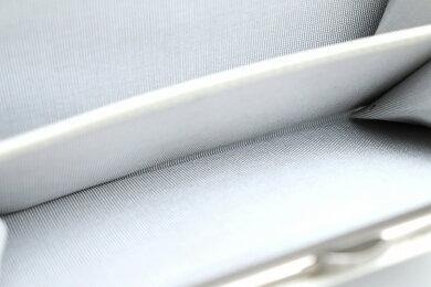 【新品未使用品】【財布】agnesb.アニエスベーアニエスベーヴォワヤージュがま口ガマ口2つ折財布ウォレットブラックホワイトレザーL227-VLR8【u】