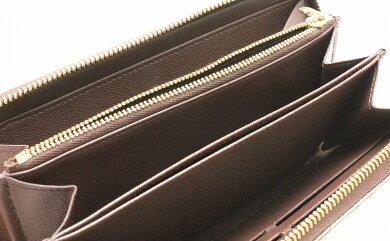 【財布】LOUISVUITTONルイヴィトンダミエジッピーウォレットラウンドファスナー長財布N60015【中古】【u】
