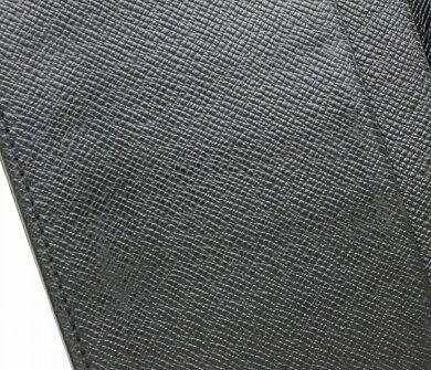 【財布】LOUISVUITTONルイヴィトンタイガポルトカルトクレディ円マチ付き長札入れレザーアルドワーズ黒ブラックM31002【中古】【u】