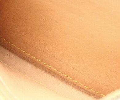 【財布】LOUISVUITTONルイヴィトンモノグラムマルチカラージッピーコインパースラウンドファスナーコインケース小銭入れブロン白M66548【中古】【k】