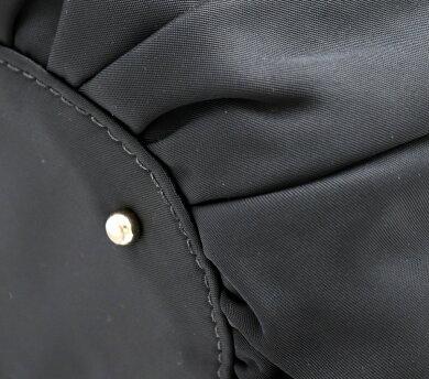 【バッグ】katespadeケイトスペードハンドバッグトートバッグショルダーバッグワンショルダーナイロンパテントレザー黒ブラックPXRU2272【中古】【k】