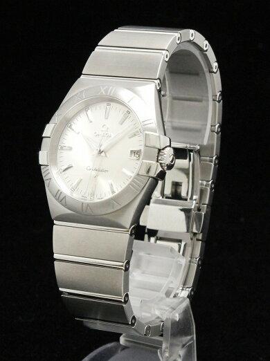 【未使用品】【ウォッチ】OMEGAオメガコンステレーションデイト35mmシルバー文字盤メンズQZクォーツ腕時計123.10.35.60.02.001【中古】【k】