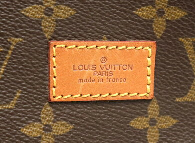【バッグ】LOUISVUITTONルイヴィトンモノグラムソミュール35ショルダーバッグ斜め掛けショルダーM42254【中古】【k】