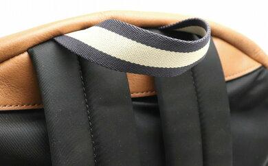 【バッグ】COACHコーチリュックリュックサックバックパックレザーナイロンブラウン茶ブラック黒シルバー金具F71873【中古】【k】