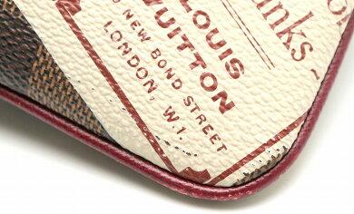 【バッグ】LOUISVUITTONルイヴィトンダミエラベルコレクションポシェットミラMMアクセサリーポーチN63080【中古】【k】