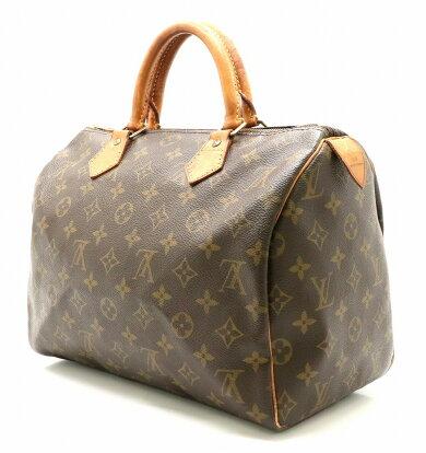【バッグ】LOUISVUITTONルイヴィトンモノグラムスピーディ30ハンドバッグミニボストンバッグM41526【中古】【k】