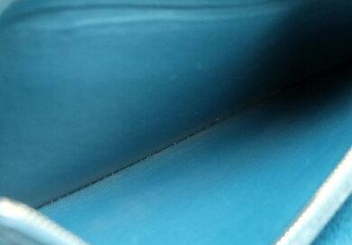 【財布】LOUISVUITTONルイヴィトンエピジッピーオーガナイザーラウンドファスナー長財布レザーブルーセレスト青M60619【中古】【k】
