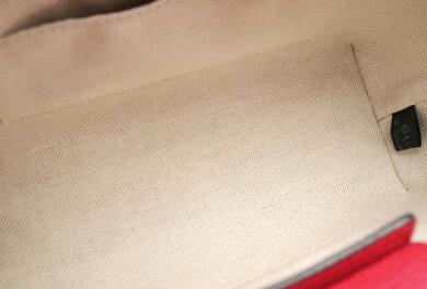 【バッグ】GUCCIグッチバンブーミニショッパー2WAYショルダーレザーハンドバッグミニトートバッグピンクオレンジゴールド金具368823001998【中古】【k】