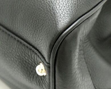 【バッグ】GUCCIグッチダイアナバンブー2WAYレザートートバッグショルダーハンドバッグブラック黒ゴールド金具308360520981【中古】【k】