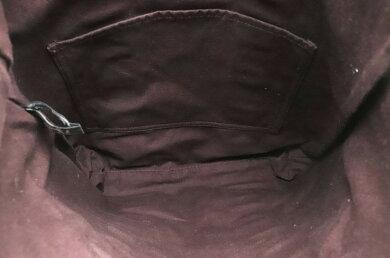 【バッグ】HERMESエルメスフールトゥカバストートバッグキャンバスボルドーボルドーブラウン【中古】【k】