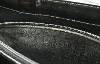 【バッグ】CHANELシャネルロゴトートバッグハンドバッグショルダーバッグエナメルブラック黒【中古】【k】