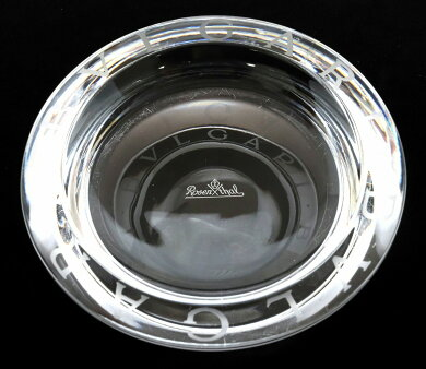 BVLGARIブルガリローゼンタールクリスタルアッシュトレイ灰皿スモールブルガリブルガリ12cm【中古】【k】