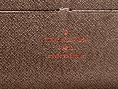 【財布】LOUISVUITTONルイヴィトンダミエジッピーオーガナイザーラウンドファスナー長財布N60003【中古】【k】