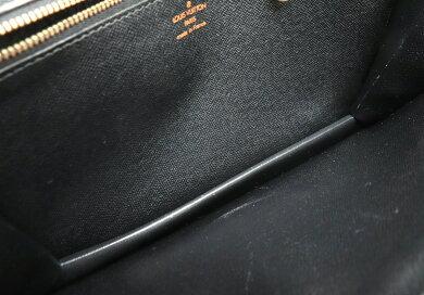 【バッグ】LOUISVUITTONルイヴィトンエピセリエドラゴンヌセカンドバッグハンドバッグレザーノワール黒ブラックゴールド金具M52612【中古】【k】