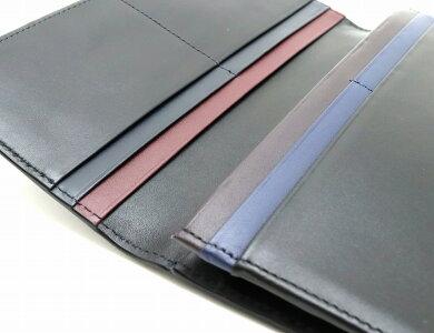 【新品未使用品】【財布】PaulSmithポールスミスポールスミス2つ折長財布レザーブラック黒ネイビーブルーブラウンワインレッド【k】
