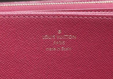 【財布】LOUISVUITTONルイヴィトンモノグラムジッピーウォレットラウンドファスナー長財布フューシャ新型M41895【中古】【k】