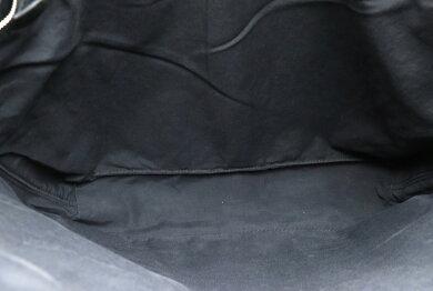 【バッグ】HERMESエルメスアカプルコカバスMMトートバッグハンドバッグナイロンキャンバスレザー黒ブラック【中古】【k】