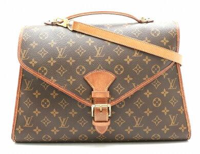 【バッグ】LOUISVUITTONルイヴィトンモノグラムビバリー41ハンドバッグビジネスバッグ2WAYショルダーバッグワンショルダーM51121【中古】【k】