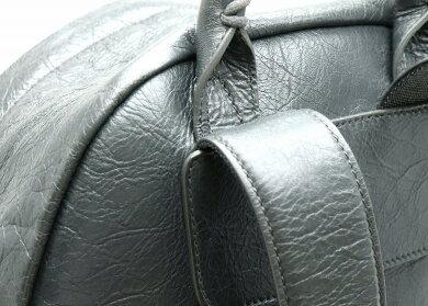 【バッグ】BALENCIAGAバレンシアガクラシックバックパックリュックレザーグレー435315【中古】【k】