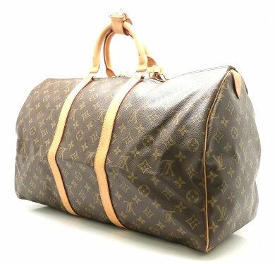 【バッグ】LOUISVUITTONルイヴィトンモノグラムキーポル50ボストンバッグ旅行カバントラベルバッグM41426【中古】【k】