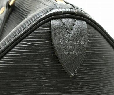 【バッグ】LOUISVUITTONルイヴィトンエピスピーディ25ハンドバッグミニボストンバッグレザーノワール黒ブラックM43012【中古】【s】