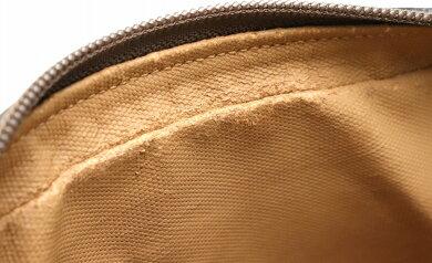 【バッグ】GUCCIグッチオールドグッチクラッチバッグセカンドバッグレザーカーキベージュブラウン茶ゴールド金具0181236021【中古】【s】