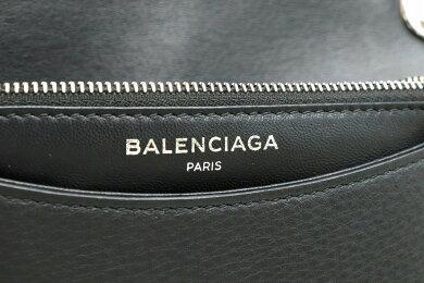 【バッグ】BALENCIAGAバレンシアガエブリデイチェーンウォレットショルダーバッグチェーンバッグ斜め掛けレザーブラック黒537387DLQ4N1000【中古】【s】