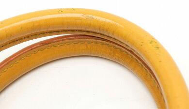 【バッグ】LOUISVUITTONルイヴィトンエピジャスミンハンドバッグレザータッシリイエロー黄色M52089【中古】【s】
