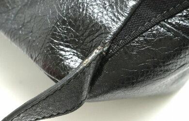 【バッグ】BALENCIAGAバレンシアガバックパックリュックレザーノアール黒ブラック409010【中古】【s】
